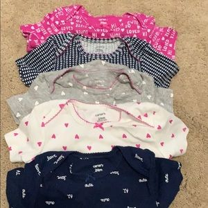 24m carter onesie bundle